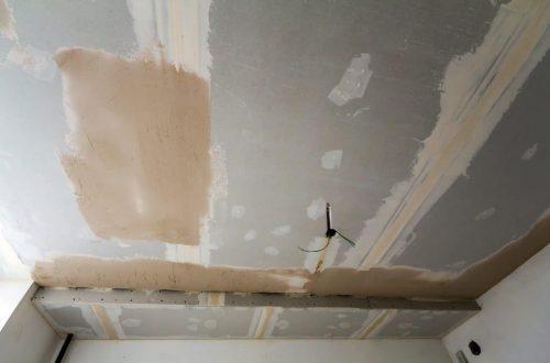 Какой гипсокартон использовать для потолка?